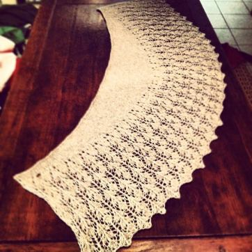 Lace project (image provided by Kate Caldwell)