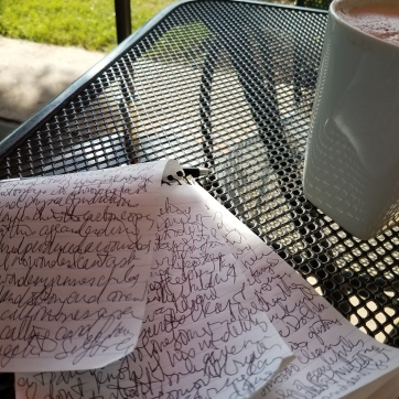 Amber's morning pages