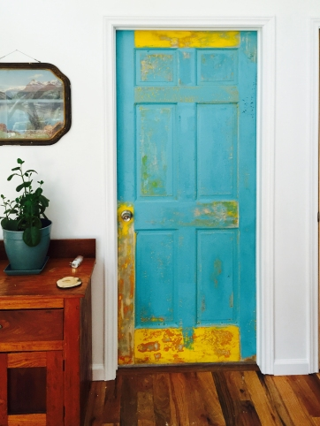 Distressed door by Jon Chambers