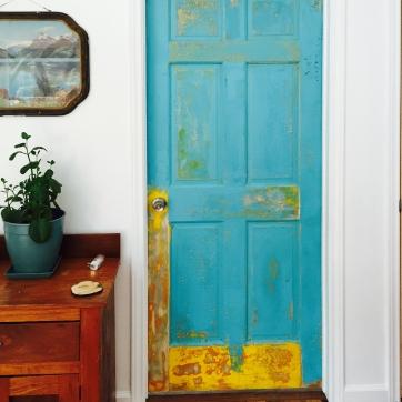 Distressed door by Jon Chambers