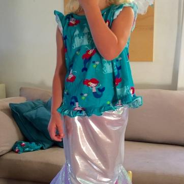 Angelica's mermaid skirt