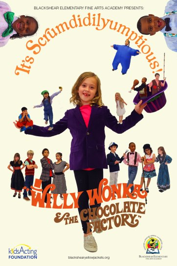 Eloise as Willy Wonka