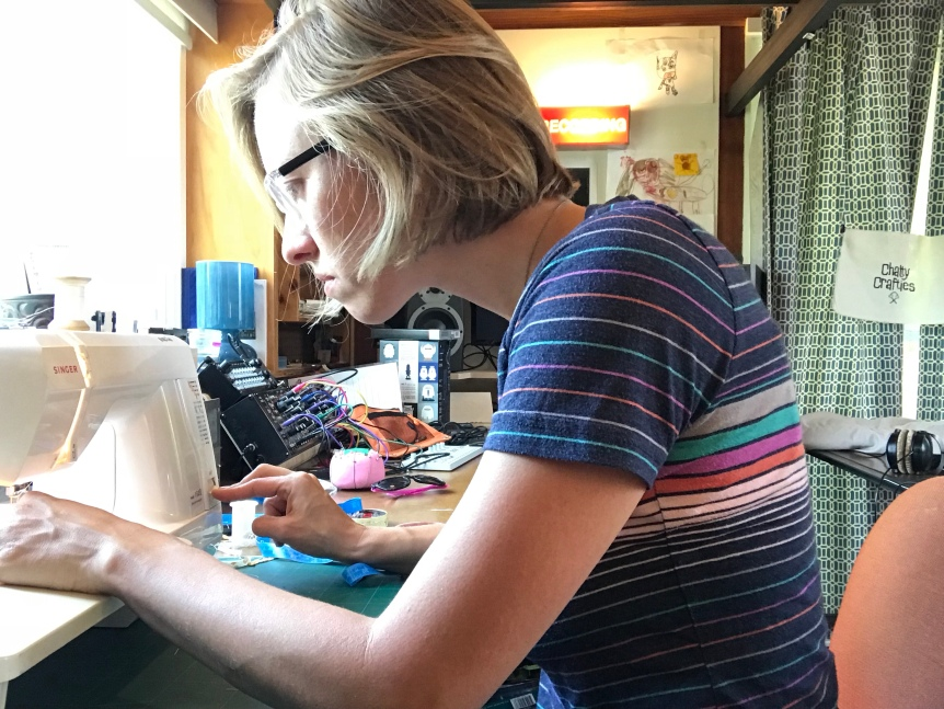 Angelica sewing