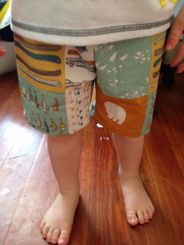 Pants for a little guy, by Sarah