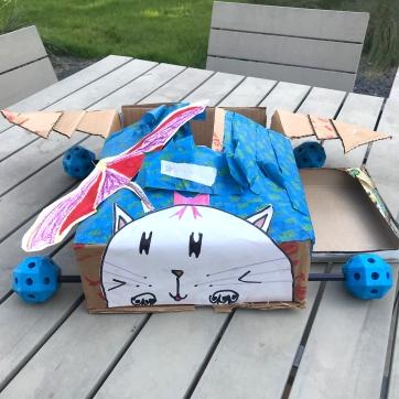 Ansley's kitty plane