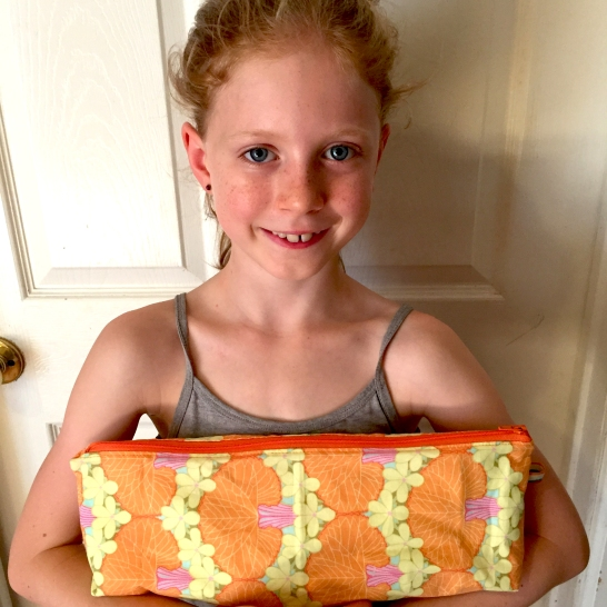 Lily's pencil case