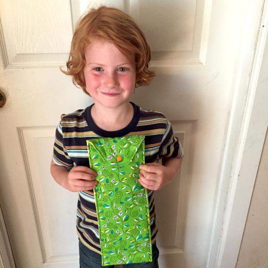 Oliver's flute case