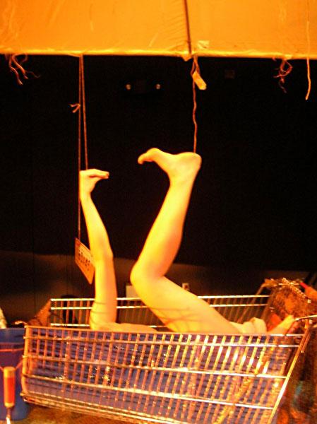 Caroline Reck in The Orchid Flotilla (Courtesy of Glass Half Full Theatre)