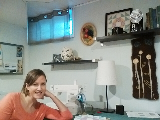 Diana's workspace