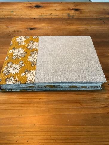 Amanda's baby book for Edie