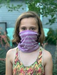 Eloise's mask